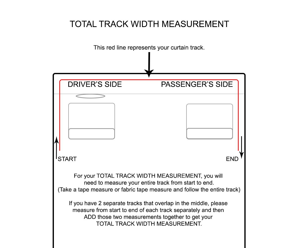 Total Track Width Measurement Diagram